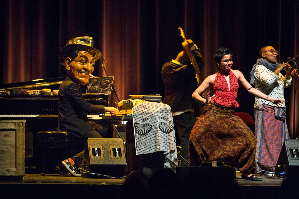 a nod from The Boston Globe for my dancing to virtuoso pianist Jason Moran playing as Fats Waller on the Big Stage