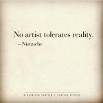 Art with Teeth because #CreativesLabor