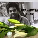 Brahmanical supremacy is anti-nature anti-human anti-life #Justice4Rohith